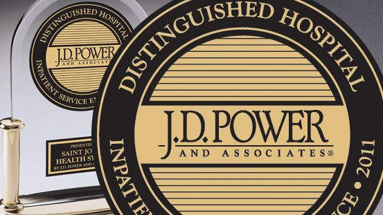 J.D. Power &#038; Associates Reports: Saint Joseph Health System Provides an Outstanding Patient Experience